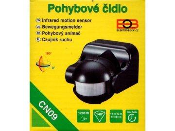 elektrobock cidlo pohybove cn09 cerne