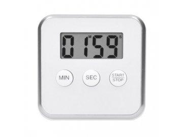 digitalni kuchynska minutka odpocitani nebo pricitani casu bila barva magnet pro prichyceni