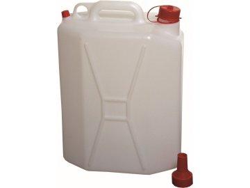 Kanystr na vodu 20 l plast s ventilkem