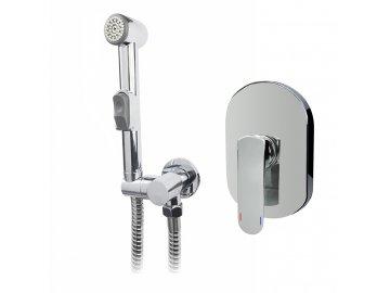 Baterie podomítková s bidetovou sprchou, Mada