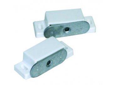 Magnet nábytkový bílý 4 kg/sáček 2 ks