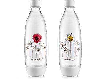 Sodastream lahev FUSE 2 x 1l Květiny v zimě SODA