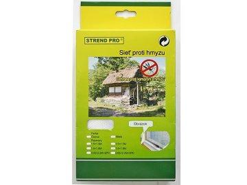 Síť proti hmyzu balkónová 220x65 cm 2 ks bílá