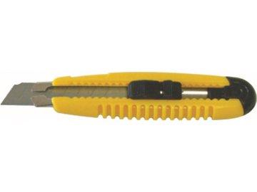 Nůž odlamovací 18 mm s jezdcem s výztuhou