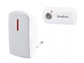 Bezdrátový zvonek síťový BZ12 - Melody - ZV65