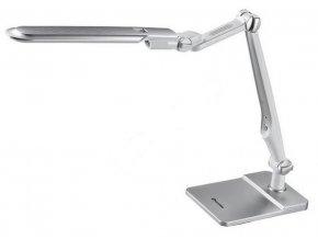 Ecolite LBL1207-STR LED stolní lampa dotyková 9W, volba teploty světla, stmívatelná, stříbrná