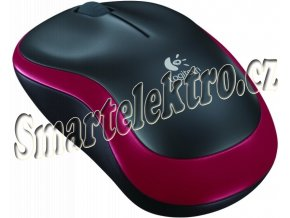 Logitech Wireless Mouse M185 Red (910-002240)