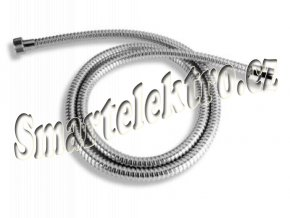 Novaservis Sprchová hadice kovová Metalia nepřekrucovací 150 cm chrom MET/155,0