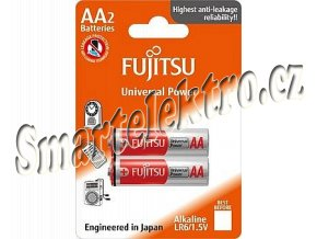 Baterie alkalická Power Fujitsu AA, blistr 2ks