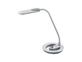 Solight LED lampička 6W, 4100K, stmívatelná, bílošedá WO38-W