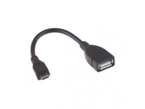 EMOS A/F- micro B/M OTG 15cm