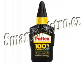 Lepidlo Pattex 100%, 50g univerzální