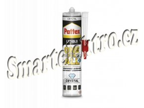 Lepidlo Pattex One For All Crystal 290g montážní