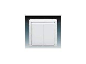 Vypínač lustrový č.5 BÍLÝ 3553-05289 B1 Classic ABB