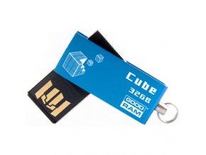 USB FD 32GB CUBE Blue GOODRAM