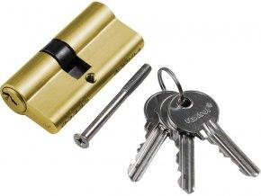 Vložka cylindrická 30+35 mm / 3 klíče