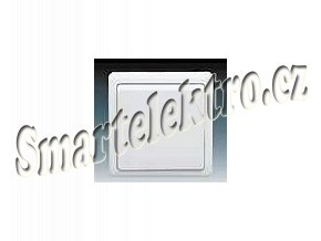 Instalační spínač 3553-07289 B1, Classic, křížový, bílý
