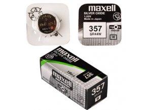 357/SR44W/V357 1BP Ag MAXELL