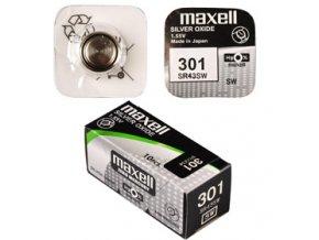 301/SR43SW/V301 1BP Ag MAXELL