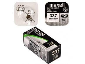 337/SR416SW 1BP Ag MAXELL