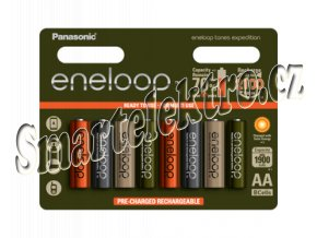HR6 AA 3MCCE/8RE 1900mAh Expedition pack