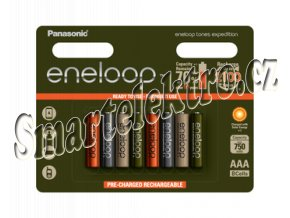 HR03 AAA 4MCCE/8RE 750mAh Expedition pac