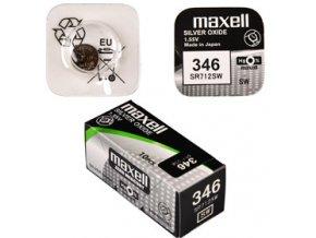 346/SR712SW/V346 1BP Ag MAXELL