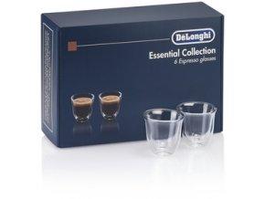 DLSC 300 SET SKLENIC ESPRESSO DELONGHI