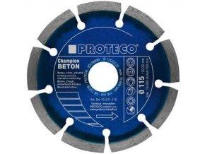 Diamantový segmentový kotouč PROTECO BETON CHAMPION 115 mm (10.211-115)