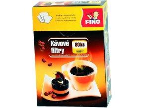 Filtr kávový 2/80 ks Fino