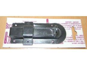 Zástrč černá 120 mm - blistr
