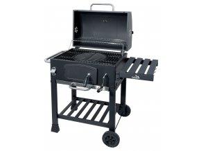 CATTARA 13040 Gril na dřevěné uhlí ROYAL litinový rošt  + ZDARMA grilovací rukavice