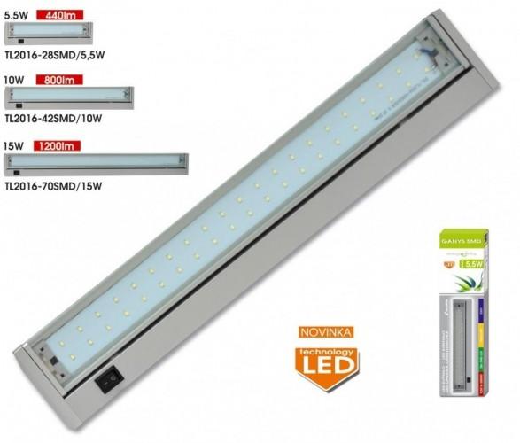 Ecolite Ganys TL2016-42 SMD LED světlo kuchyňské linky Barva: Bílá