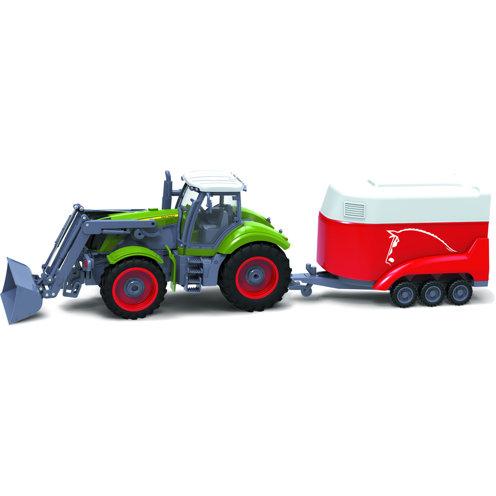 BUDDY TOYS BRC 28.611 RC Traktor + přívěs