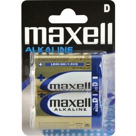 Baterie MAXELL Alkaline D 2ks