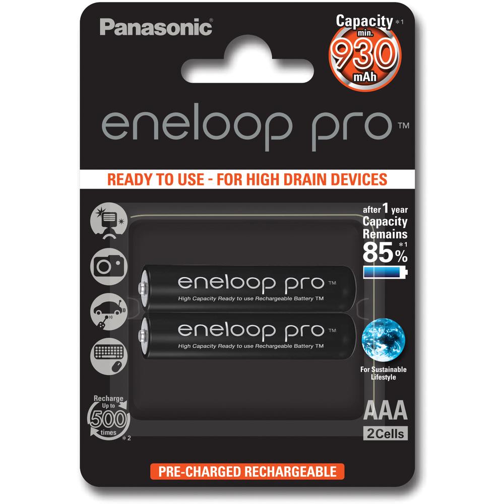 Baterie Panasonic Eneloop AAA 2ks 4MCCE/2BE