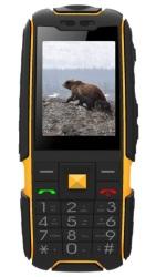 Aligator R20 eXtremo, mobilní telefon, Dual SIM, černo-žlutý