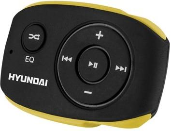 Přehrávač MP3 Hyundai MP 312, 4GB, černo/žlutá barva