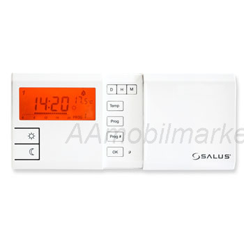 Pokojový termostat s týdenním programem a podsvětlením