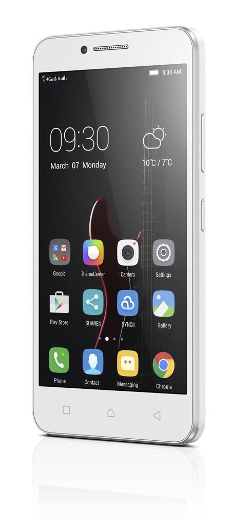 Lenovo Vibe C 8GB Dual SIM bílý