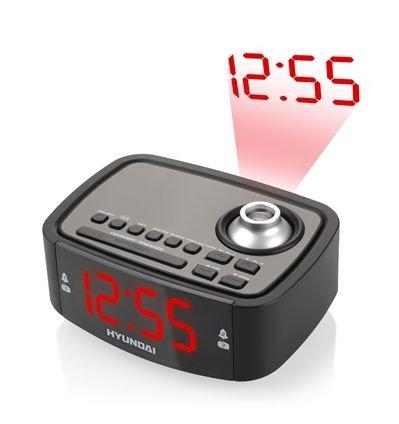 Radiobudík Hyundai RAC 201 PLL BR, s projekcí, digitální FM tuner