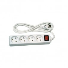 prodlužovací kabel 5m 4 zásuvky s vypínačem