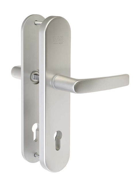FAB BK301/90 F1 - Hliníkové bezpečnostní kování klika - klika