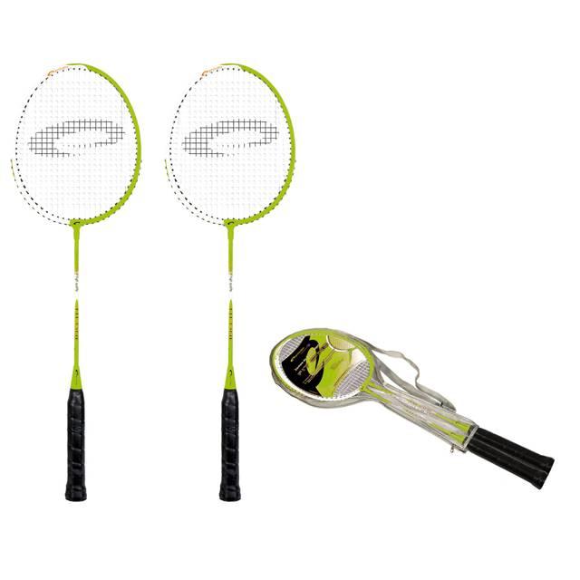 Spokey Fit one Sada na badminton zelená