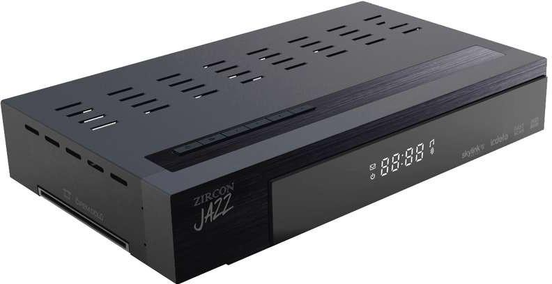 Zircon Jazz HD satelitní přijímač