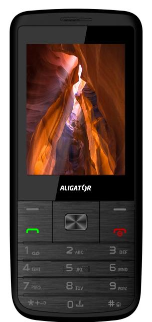 Aligator D920, černo/stříbrná AD920BS