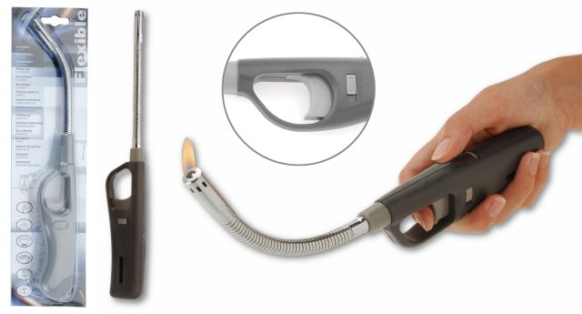 zapalovač plynu 28 cm ohebný