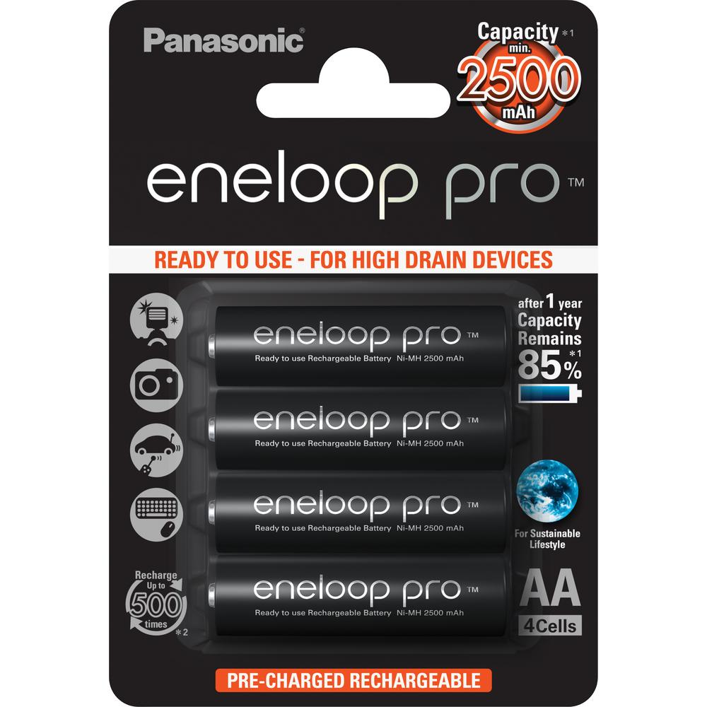 Baterie Panasonic Eneloop AA 4ks BK-3HCDE/4BE