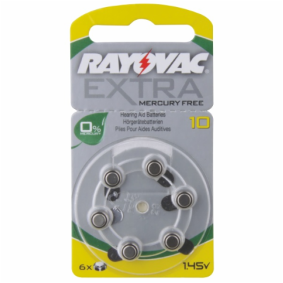 Baterie RAYOVAC Extra Advanced 10