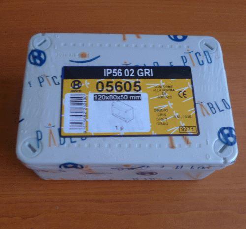 Rozvodná instalační skříň 12x8x5